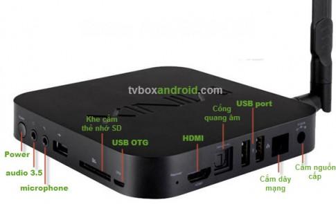 Biến Android TV Box thành bộ phát WIFI