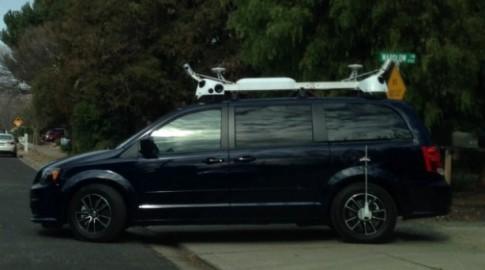 Chiếc xe bí ẩn của Apple đang thu thập thông tin cho Maps