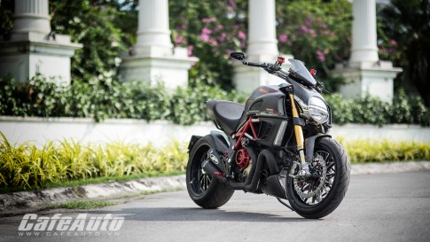 Ducati Diavel Carbon độ cực ngầu tại Việt Nam
