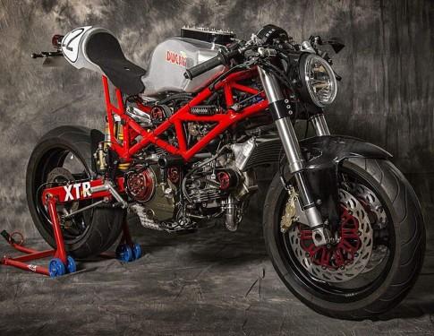 Ducati Monster 795 độ Cafe Racer đầy phong cách