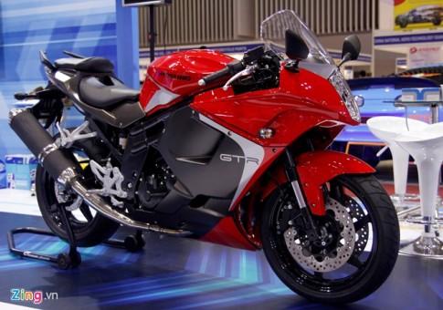 Hyosung GT650R Mẫu sportbike của Hàn Quốc sắp bán tại Việt Nam