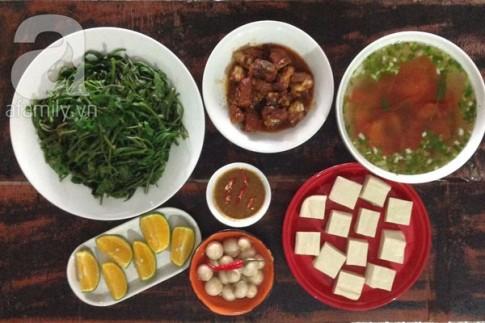 30 phút nấu thực đơn cơm tối ngon lành mời cả nhà