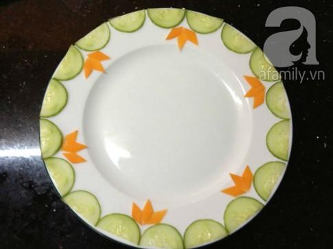 4 cách cắt tỉa rau củ đơn giản trang trí đĩa thức ăn