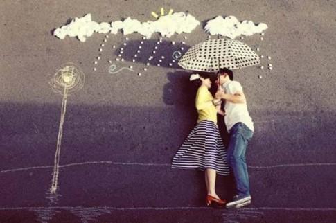 5 bí kíp hẹn hò cho các cặp đôi vào ngày mưa