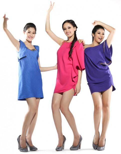 Ba Hoa hậu biến hóa với nhiều phong cách