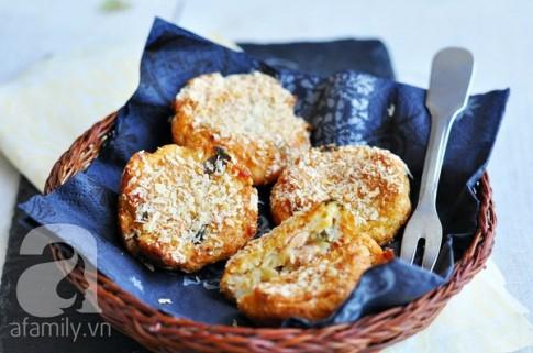 Bánh khoai tây thơm giòn khó cưỡng