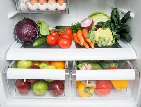 Cách bảo quản trái cây rau củ trong tủ lạnh