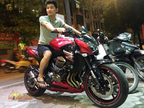 Cảm nhận của Biker 9X khi cầm cương Kawasaki Z800