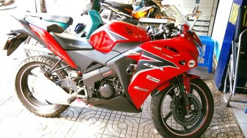 Cần bán moto CBR 150i Thái Lan màu đỏ
