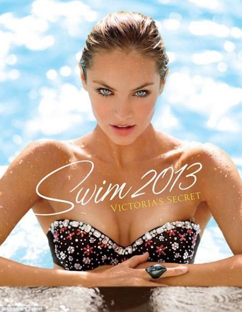 Candice Swanepoel nóng bỏng trong đồ bơi của Victoria's Secret