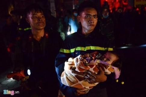 Cảnh sát trẻ cứu hơn 50 người ở vụ cháy chung cư
