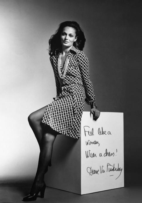 Chiếc váy thay đổi cuộc đời Diane von Furstenberg