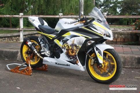 Chiem nguong Kawasaki Ninja 300 do phong cach Transformer