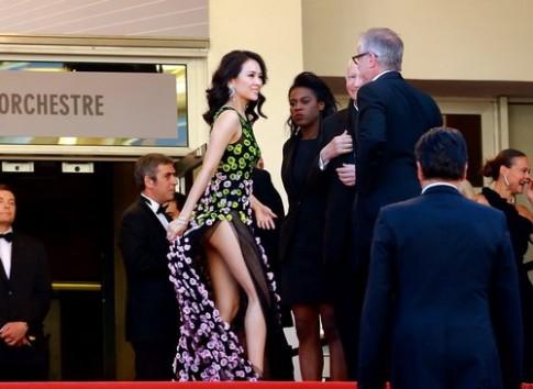 Chương Tử Di lấp ló vòng ba ở Cannes