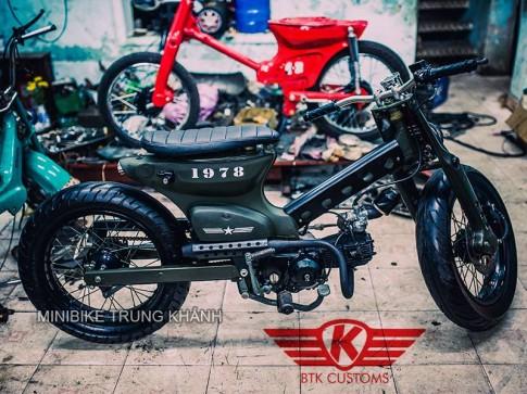Cub do khung cua Minibike Trung Khanh