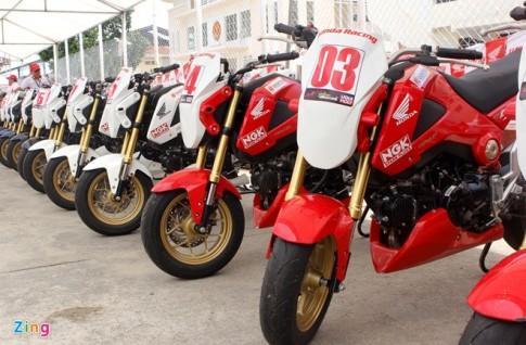 Dàn Honda MSX 125 độ tại Đà Nẵng