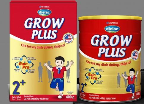 Dielac Grow Plus – Đặc chế cho trẻ suy dinh dưỡng thấp còi