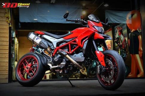 Ducati Hypermotard sành điệu và hàng hiệu với bản độ từ Thái