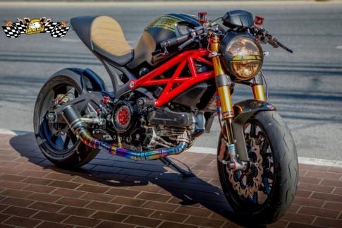 Ducati Monster 795 chất chơi trong phiên bản Cafe Racer