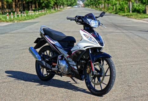 Exciter 2010 phong cách Spark rx135i.