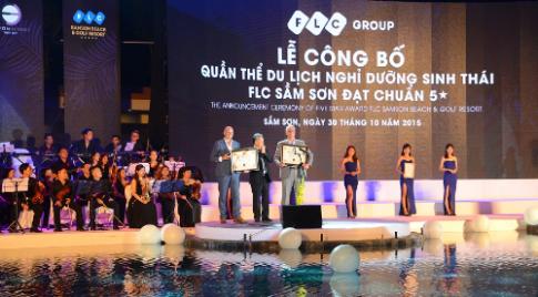 FLC Sầm Sơn đạt tiêu chuẩn quốc tế 5 sao