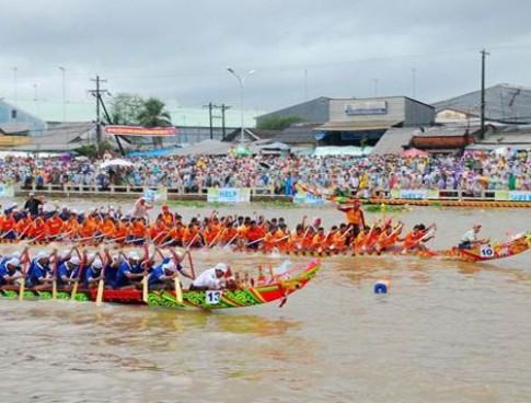 Gần 60 đội sẽ đua ghe ngo tại Sóc Trăng