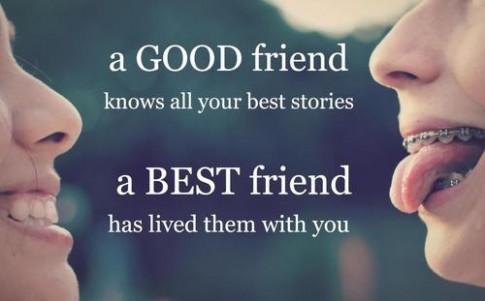 Giá trị của một người bạn thân đúng nghĩa...