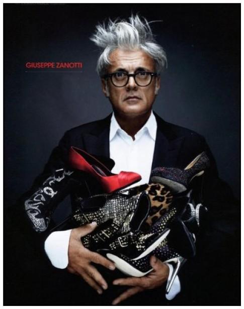 Giuseppe Zanotti - 'linh hồn' của đôi chân