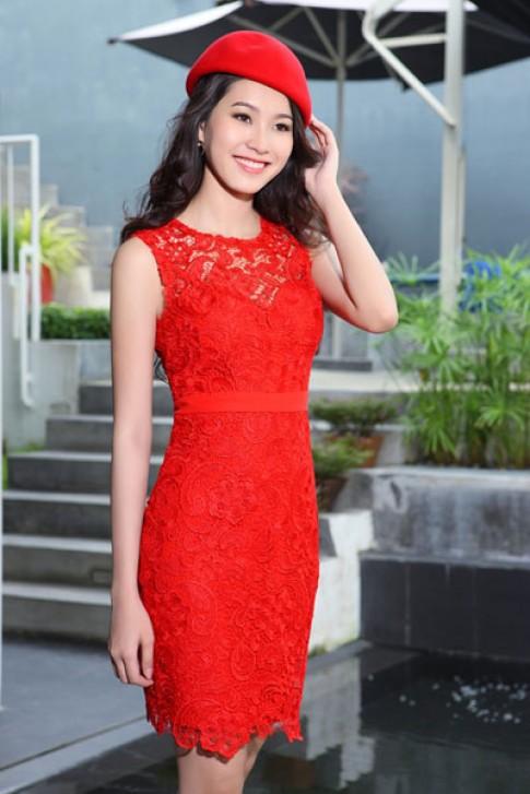 Hoa hậu Thu Thảo duyên dáng với mũ bê rê