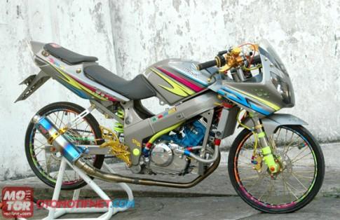 Honda CBR 150 độ phong cách Drag