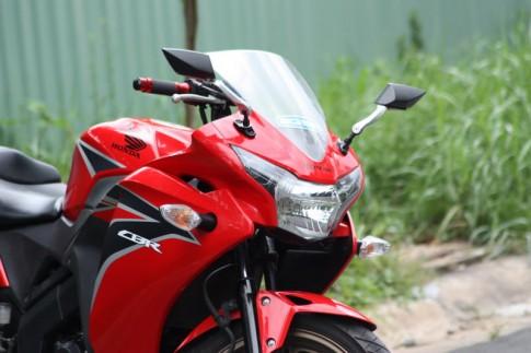 Honda CBR150 độ đơn giản với 1 gắp NSR
