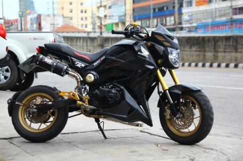Honda MSX 125 độ mượt mà tại đất Thái