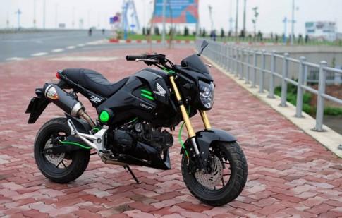 Honda MSX 125 độ nhẹ mà ấn tượng