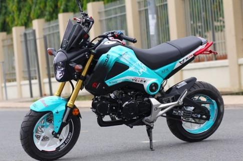 Honda MSX 125 Sơn đấu với phong cách Game Online