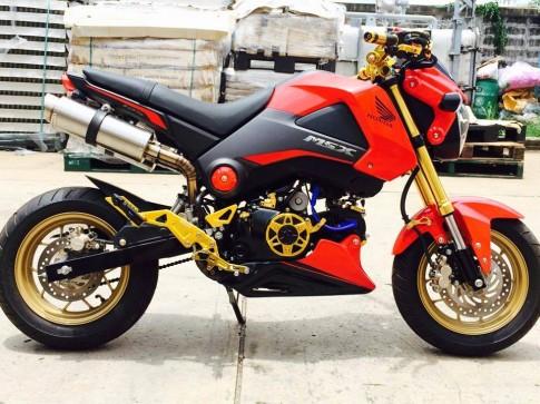 Honda MSX độ 2 pô đút đít độc đáo của dân chơi Thái