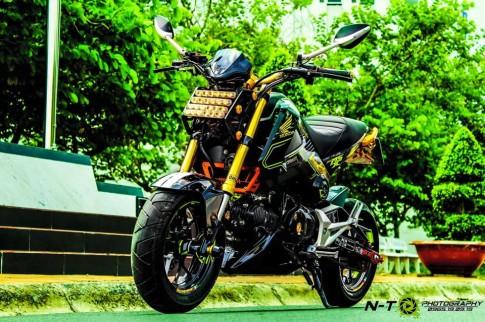 Honda MSX độ siêu ngầu của dân chơi Việt