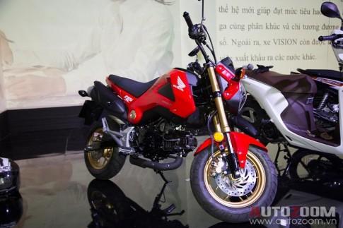 """Honda MSX """"kén khách"""" tại Việt Nam"""
