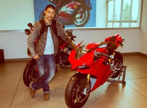 Johnny Trí Nguyễn tham quan nhà máy Ducati