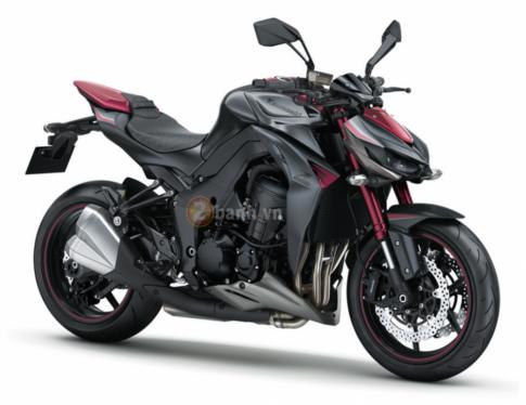 Kawasaki Z1000 2016 chuẩn bị ra mắt với phiên bản màu mới