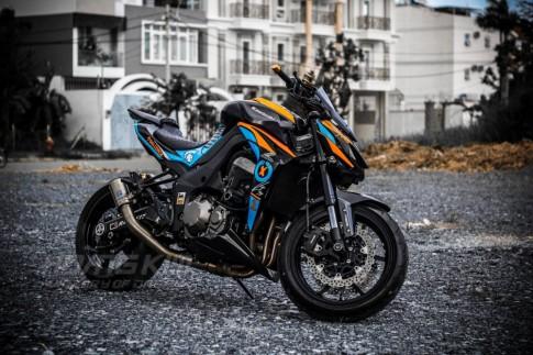 Kawasaki Z1000 đẹp ấn tượng với phiên bản Lorenzo Knight