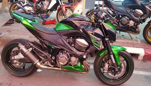 Kawasaki Z800 độ phong cách tại Thái Lan