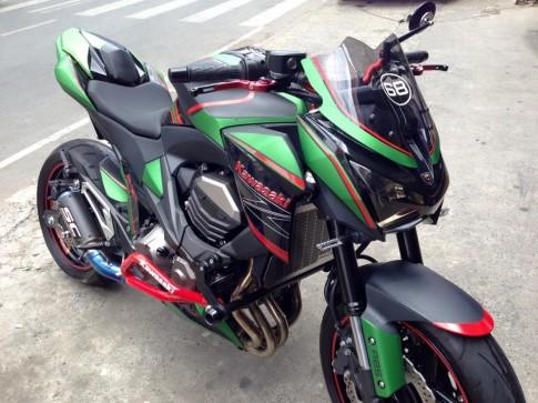 Kawasaki Z800 do sieu ngau cua biker Sai Thanh