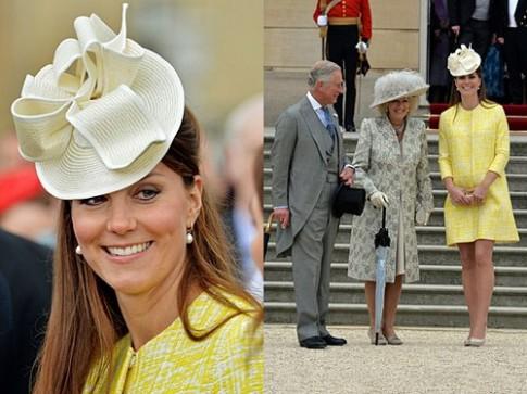 Khoảnh khắc thời trang của bà bầu Kate Middleton