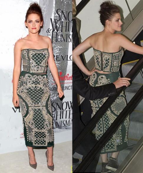 Kristen Stewart thích diện váy với giày thể thao