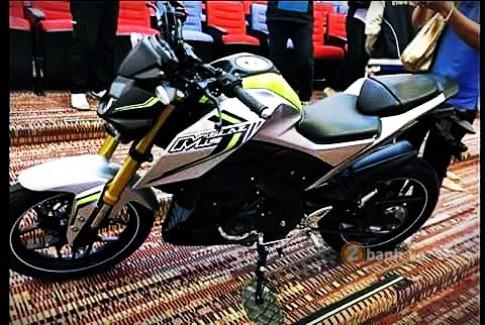 Lộ ảnh nóng Yamaha M-Slaz trước ngày ra mắt