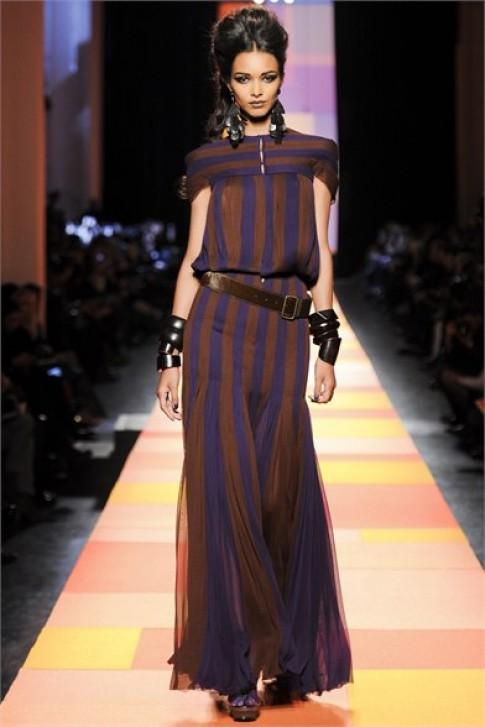 Màu sắc Ấn trong BST của Jean Paul Gaultier