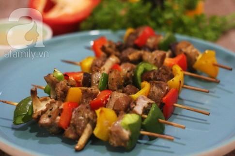 Món ngon cuối tuần: Thịt xiên nướng BBQ