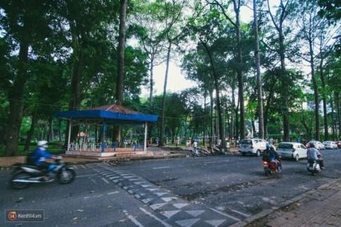 Nhìn ngắm những góc xanh yên bình đẹp đến nao lòng ở công viên Tao Đàn