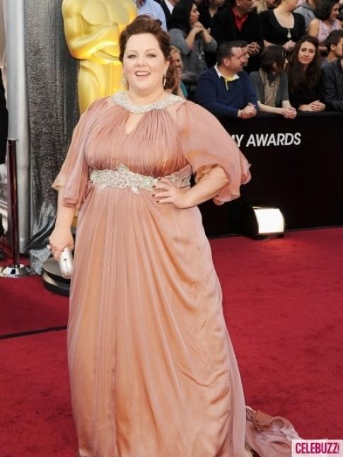 Những bộ váy xấu nhất tại Oscar 2012