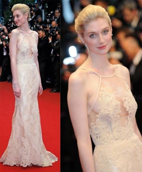 Những chiếc váy ren tuyệt đẹp trên thảm đỏ Cannes